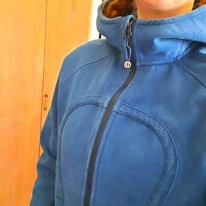 Lulu Lemon hooded jacket sweatshirt zip up